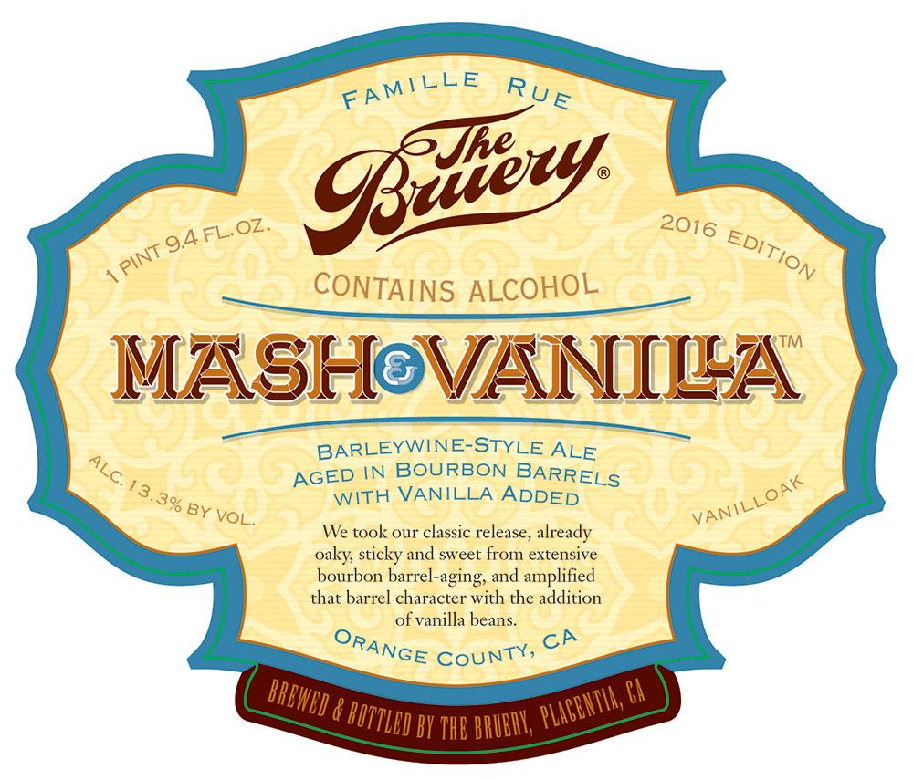 Mash and Vanilla barrel aged barleywine by The Bruery